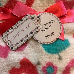 Zak & Zoey Bedding - Zak & Zoey Soft & Cuddly Baby Blanket NWT